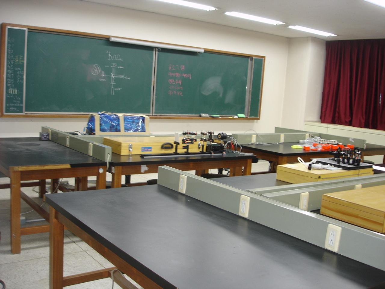 물리학과 현대물리실험실