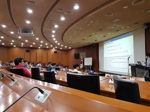 『STATA 통계프로그램 특강』 개최