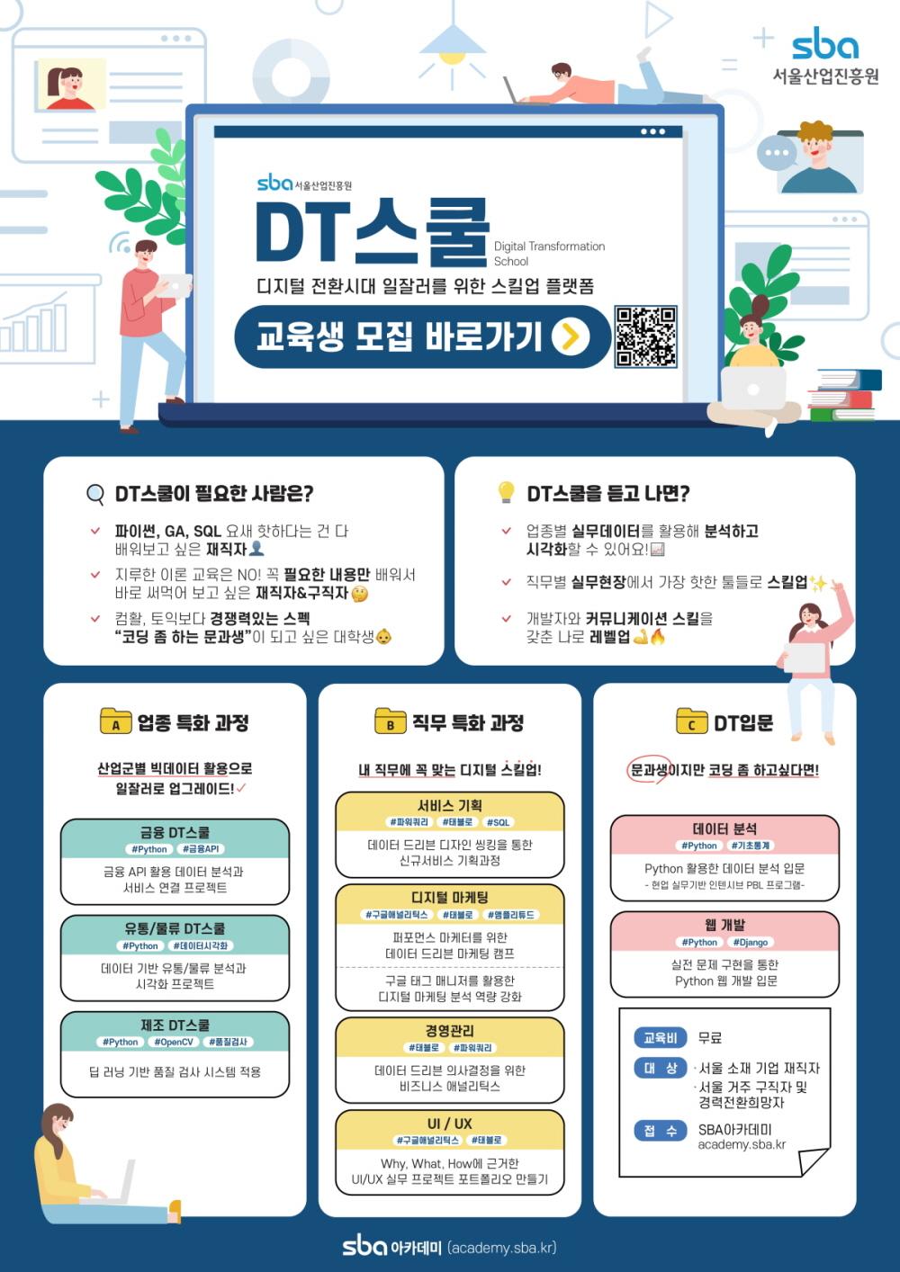 서울산업진흥원 무료교육 안내