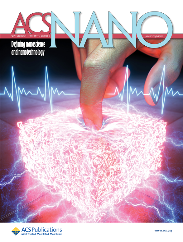 표지논문 사진 ACS NanoImpact factor 15881 최신 호2021년 9호
